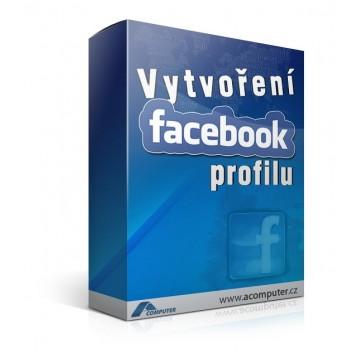 Vytvoření Facebookového profilu
