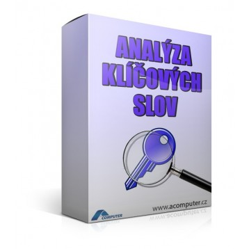 Analýza klíčových slov