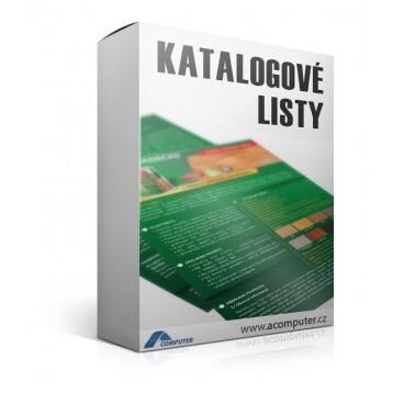 Katalogové listy