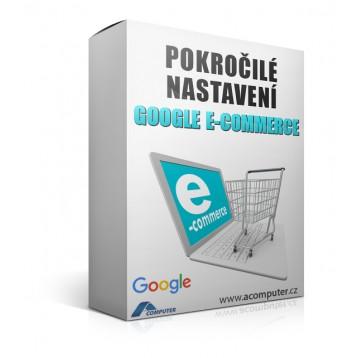 Pokročilé nastavení Google E-commerce