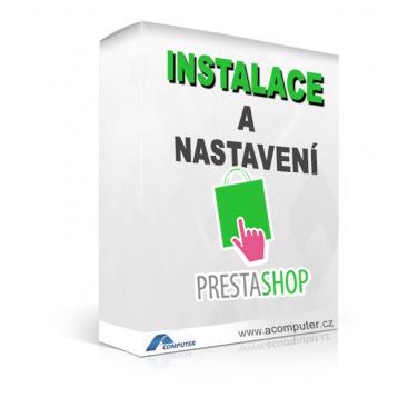 Instalace a nastavení PrestaShop 1.6