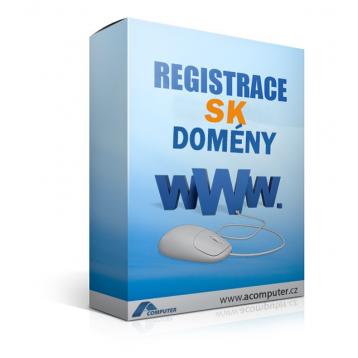 Registrace SK domény