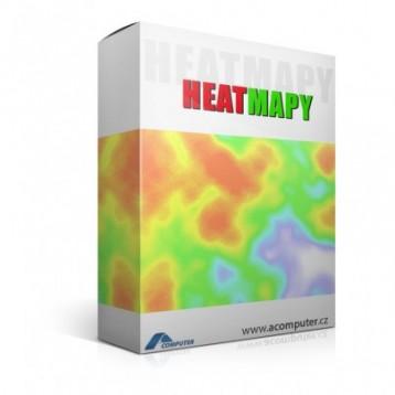 Heatmapy mYx