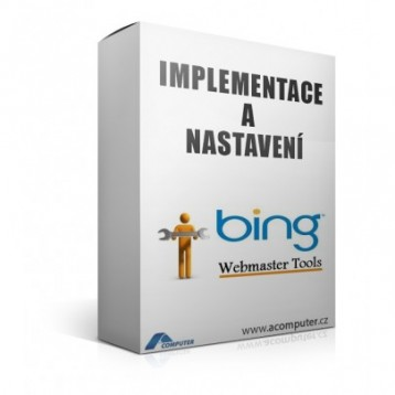 Bing Webmaster Tools - nastavení